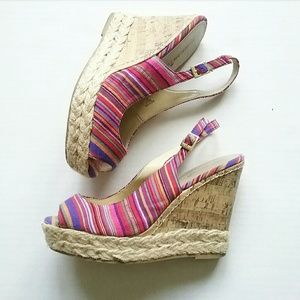 Montego Bay Club Espadrille Wedge Sandals